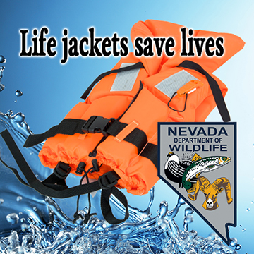 Life jackets save lives!