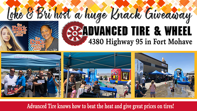 Advanced Tire & Wheel Knack Giveaway Party