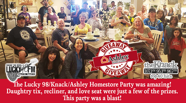Lucky 98/Knack/Ashley Homestore Party