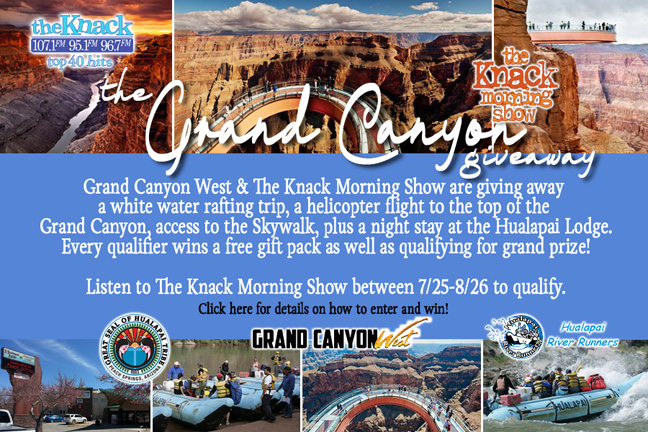 The Knack Grand Canyon Giveaway