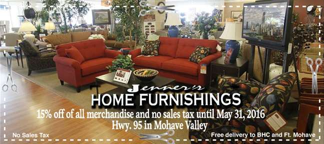 Jenner's Home Furnishings Coupon
