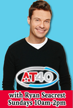 AT40 with Ryan Seacrest on The Knack